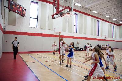 Tableau de pointage de basketball 2700 (8' x 3') - École secondaire Paul Arseneau, L'Assomption
